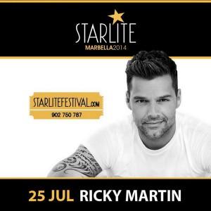 Ricky Martin, una de las estrellas invitadas.