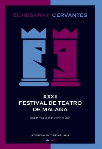 Cartel Festival de Teatro Málaga